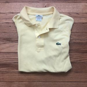 Lacoste Yellow Polo L(5)